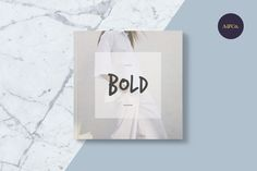Bold Magazine by Ally & Co. on @creativemarket