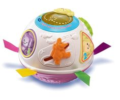 VTech Light and Move Learning Ball, Pink