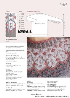 Ideas knitting stitches free fair isles for 2019 Fair Isle Knitting Patterns, Jumper Patterns, Sweater Knitting Patterns, Knitting Charts, Knitting Stitches, Knitting Designs, Knit Patterns, Free Knitting, Baby Knitting