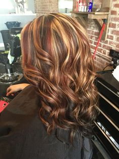 11+ Best Dark Brown Hair with Blonde Highlights 2017 - Page 10 of 13 - The latest and greatest styles ideas