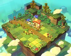 Game Level Design, Game Character Design, Game Design, Map Games, Pixel Art Games, Isometric Art, Isometric Design, Game Environment, Environment Concept Art