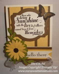 Stampin Up Feel Goods stamp set