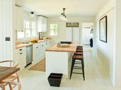 Shelter Island Heights - modern - kitchen - new york - SchappacherWhite Ltd. Love the clean lines