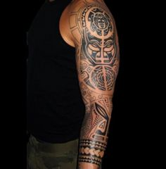 Tatouage maori homme - Tatouage tribal