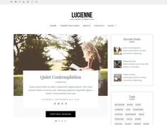 Lucienne is a stylish, elegant and minimal WordPress theme designed for blogs and online shops. It uses whitespace and beautiful typography to present your words, images and products in style. The homepage features a post carousel which lets you highlight posts from a category on your blog, you can choose the number of posts and also hide this if required. The homepage has widgetized areas at the top and bottom so you can add custom content if required. Lucienne works alongside WooCommerce…