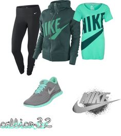"""""""nike"""" by callico32 on Polyvore"""