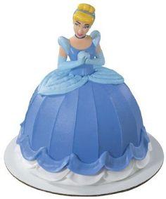 Cinderella Mini Doll Cake Pick