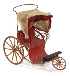 Sale Purchase, Antique Toys, Baby Strollers, Auction, Antiques, Pram Sets, Sheet Metal, Baby Prams, Antiquities