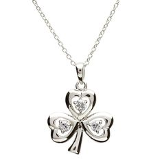 March Giveaway: Win a Stone Set Shamrock Silver Pendant  http://www.shanore.com/blog/march-giveaway-win-stone-set-shamrock-silver-pendant/