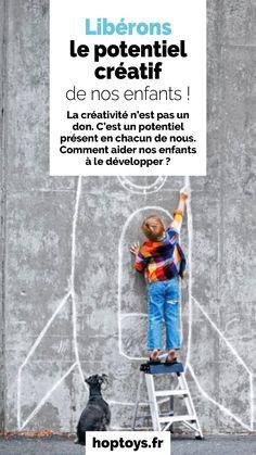La créativité n'est pas un donc. C'est un potentiel présent en chacun de nous. Comment aider nos enfants à le développer? Venez les découvrir dans cet article! Education Positive, Baseball Cards, Animal Activities, Animaux, Music Gifts, Spring, Children