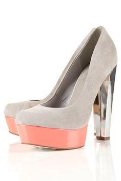 STRUT Contrast Platform Shoes - View All - Shoes - Topshop