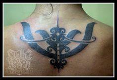 Iban Tattoo Design #Iban #Dayak #borneo #tattoos #Sarawak #borneotattoos #borneo #tattoos #dayak Feather Tattoo Design, Elephant Tattoo Design, Owl Tattoo Design, Butterfly Tattoo Designs, Elephant Tattoos, Feather Tattoos, Leg Tattoos, Tatoos, Iban Tattoo