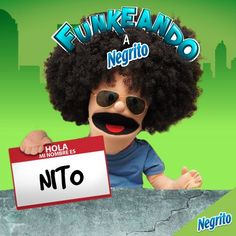 Funketos, esto se está poniendo bueno, de los nuevos nombres para Negrito Bimbo, Nito lleva la delantera. Vota aquí http://on.fb.me/17ClfPM si quieres que éste sea el nuevo nombre de Negrito Bimbo.