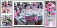 Baby pink colour schemed venue dressing. You can hire venue dressing like this at Natalija.Co Event Planning, find us on facebook, or visit our website, www.natalija.co.uk