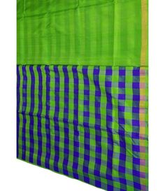 Green Handloom Upadda Silk Saree