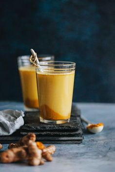Healing Milks: Turmeric Golden Milk + Spiced Almond Milk food photography, food styling, learn food photography