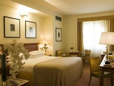 Rome Starhotels Metropole Italy, Europe Stop at Starhotels Metropole to discover the wonders of Rome. The hotel offers a high standard of service and amenities to suit the individual needs of all travelers. Service-minded staff will welcome and guide you at the Starhotels Metropole. Guestrooms are designed to provide an optimal level of comfort with welcoming decor and some offering convenient amenities like television LCD/plasma screen, internet access – wireless (complimenta...