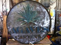 Custom sign for Agaves Cantina, Daniel Island, SC Daniel Island, Agaves, Design, Art, Art Background, Kunst, Performing Arts, Art Education Resources