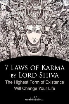 7 Laws of Shiva Karma by Lord Shiva That'll Change Your Life - 7 Laws of Karma by Lord Shiva — the Highest Form of Existence Will Change Your Life - Arte Shiva, Mahakal Shiva, Shiva Art, Shiva Statue, Shiva Meditation, Shiva Yoga, Kundalini Yoga, Rudra Shiva, Lord Shiva Family