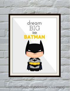 Batman Print Batman Printable Batman Art by belovedboutiquewpg