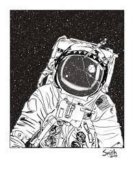 Resultado de imagem para astronaut illustration tumblr