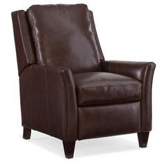 Bradington-Young Gunner Leather Recliner Finish: New Classiques, Upholstery: 914600-95