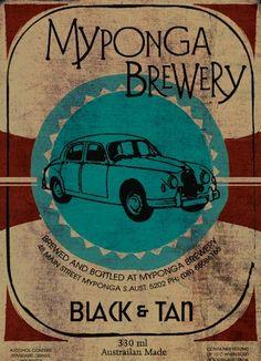 Australian beer label