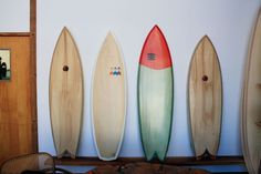 Woodshop:  a studio-showroom in San Fran run by four surfers who craft surfboards, custom furniture, refurbished vintage chairs, and hand-painted signs from locally salvaged and sustainably harvested wood.