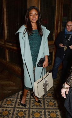 Naomie Harris - Harvey Weinstein's Pre-BAFTA Dinner, in Partnership with Burberry and Grey Goose in London 14 February 2014