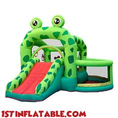 Frog Prince Inflatable Bouncer Inflatable Jumper Castle – IB-04 $2,025.00