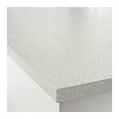 "SÄLJAN Countertop, white stone effect - white stone effect - 98x1 1/2 "" - IKEA"
