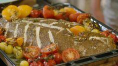 Video: Video: Griet al forno met tomaten