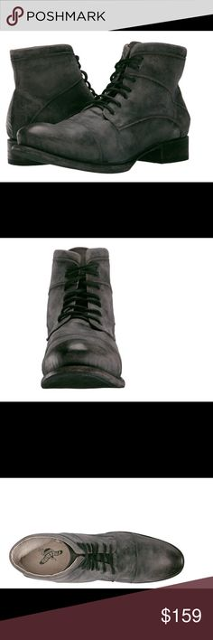 Freebird  by Steve Mercer boot men NWT Amplify your style and make your look magical with these superb boots. Upper made of leather. Lace up closure. Lining made of leather. Round toe with stacked heel. Leather outsole. Imported. Measurements: Weight: 1 lb 9 oz Shaft: 6 1⁄4 in Product measurements were taken using size 12, width M. Please note that measurements may vary by size. freebird by Steve  Shoes Boots