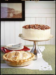 Coated in cream cheese frosting and topped with pecans, this Hummingbird #Cake is a feast for the senses. #recipes