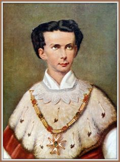 Munich and Co: Portrait de couronnement du Roi Louis II de Bavièr...