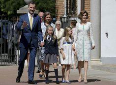 Toda la familia parecía muy feliz. (BALLESTEROS / EFE)