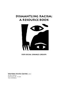 Sharing the Lessons Learned: Reflections on six years of anti-racism work --Dismantling Racism Project