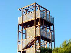 Manuel Fonseca. Arquitecto: Torre de observación del mar. Grao de Castellón (Castellón).
