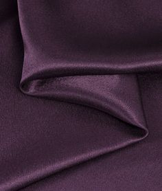 This would be perfect for my drop cover. Plum Crepe Back Satin Fabric - $3.7 | onlinefabricstore.net