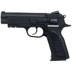"EAA Witness P Full Size Semi Automatic Handgun .45 ACP 4.5"" Barrel 10 Rounds Black Polymer Grips Blued Finish"