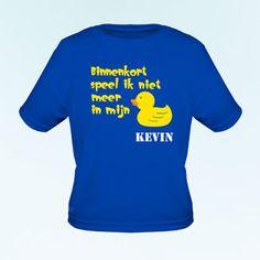 T-shirt > zo laat je het zusje/broertje het grote nieuws vertellen
