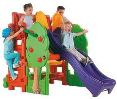 Amazon.com: ECR4Kids Tree House Climbing Structure: Toys & Games