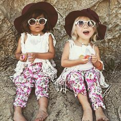 These Two-Year-Old Girls Rock This Summer: Everleigh Soutas and  Ava Foley