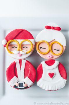 Christmas Red Velvet cupcakes The Novice Housewife #christmas #redvelvet #cupcakes