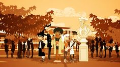 Grems made illustrations for a short animated movie for the UNIVERSITY FRANÇOIS-RABELAIS – TOURS/BLOIS with La Pompadour – production agency. Tours, This Is Us, Animation, Concert, Movie Posters, Movies, Illustrations, Inspiration, Art
