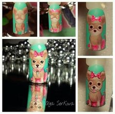 Tutorial nails doggy