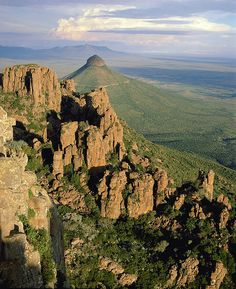 Valley of Desolation, Karoo - South Africa by South African Tourism, via Flickr