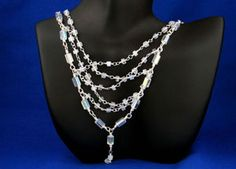 Silver Moonstone Necklace