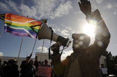 South Africa's constitution guarantees equality. But some gays worry that with Nelson Mandela's passing, some of those rights could come under threat.