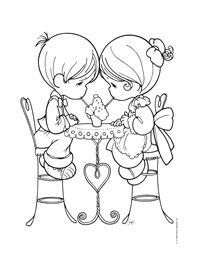 109 best Valentine\'s Coloring Pages images on Pinterest | Coloring ...